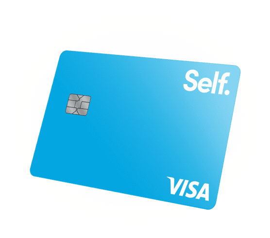 self credit card image
